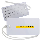 Luggage Tag-LIVESTRONG