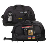 Urban Passage Wheeled Black Duffel-LIVESTRONG