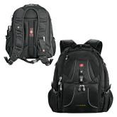 Wenger Swiss Army Mega Black Compu Backpack-LIVESTRONG