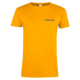 Ladies Gold T Shirt-Educational Trust