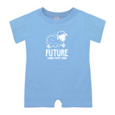 Light Blue Infant Romper-Future LKS