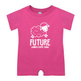 Bubble Gum Pink Infant Romper-Future LKS