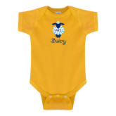 Gold Infant Onesie-Baby w LKS Lamb