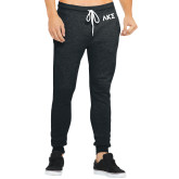 Bella Canvas Charcoal Heather Joggers-Greek Letters