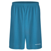 Performance Classic Light Blue 9 Inch Short-Lambda Kappa Sigma