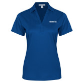 Ladies Royal Performance Fine Jacquard Polo-Educational Trust Word Mark
