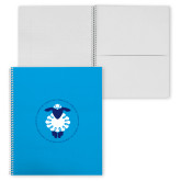 College Spiral Notebook w/Clear Coil-Lambs for Life