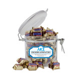 Snickers Satisfaction Small Round Canister-Greek Letters