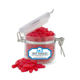 Hot Tamales Small Round Canister-Greek Letters