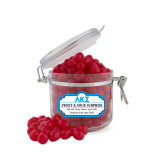 Sweet & Sour Cherry Surprise Small Round Canister-Greek Letters