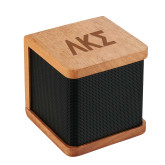 Seneca Bluetooth Wooden Speaker-Greek Letters Engraved