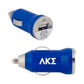 On the Go Royal Car Charger-Greek Letters