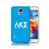 Galaxy S5 Phone Case-Greek Letters with Tagline