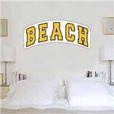 2 ft x 6 ft Fan WallSkinz-Arched Beach