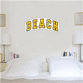 1.5 ft x 4 ft Fan WallSkinz-Arched Beach