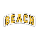 Medium Decal-Arched Beach