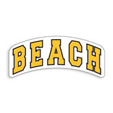 Large Decal-Arched Beach
