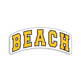 Small Decal-Arched Beach