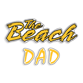 Dad Decal-Dad, 6 inches long side