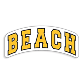 Extra Large Decal-Arched Beach