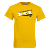 Big West Gold T Shirt-2015 Womens Soccer - Long Beach