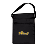 Koozie Black Lunch Sack-The Beach