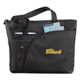 Excel Black Sport Utility Tote-The Beach