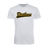 SoftStyle White T Shirt-Dirtbags