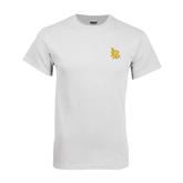 White T Shirt-Interlocking LB