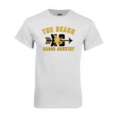 White T Shirt-Cross Country Design