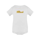 White Infant Onesie-The Beach