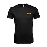 Next Level SoftStyle Black T Shirt-The Beach