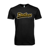 Next Level SoftStyle Black T Shirt-Dirtbags