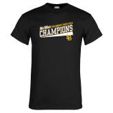 Black T Shirt-2018 Womens Track and Field Champions