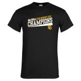 Black T Shirt-2018 Womens Golf Champions