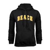 Black Fleece Hoodie-Arched Beach