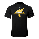 Under Armour Black Tech Tee-Track and Field Side Shoe Design