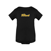 Black Infant Onesie-The Beach