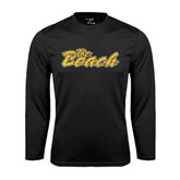 Performance Black Longsleeve Shirt-The Beach