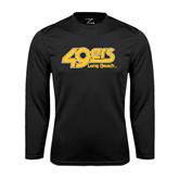 Performance Black Longsleeve Shirt-49ers Long Beach