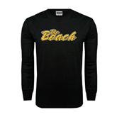 Black Long Sleeve TShirt-The Beach