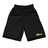 Russell Performance Black 10 Inch Short w/Pockets-The Beach