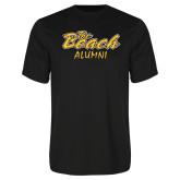 Performance Black Tee-Alumni
