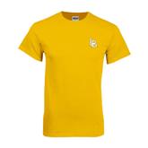 Gold T Shirt-Interlocking LB