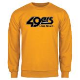Gold Fleece Crew-49ers Long Beach