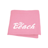 Pink Sweatshirt Blanket-The Beach