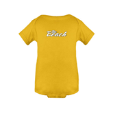 Gold Infant Onesie-The Beach
