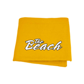 Gold Sweatshirt Blanket-The Beach