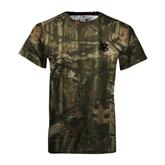 Realtree Camo T Shirt-Interlocking LB