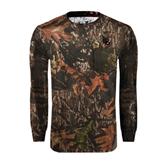 Realtree Camo Long Sleeve T Shirt w/Pocket-Interlocking LB